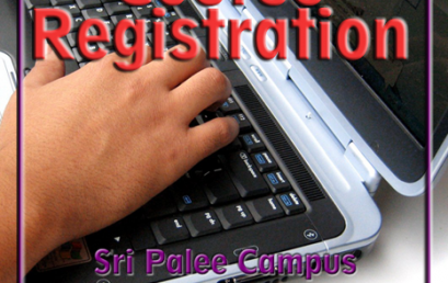 Course Registration – Fourth Year Second Semester 2020